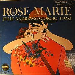Rose-Marie: Julie Andrews and Giorgio Tozzi [ LP Vinyl ]