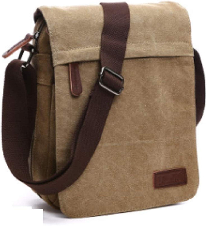HhGold Große Kapazität Messenger Bags Männer Casual Daypacks Sportlicher Rucksack (Farbe   Braun) B07H3LS8XX