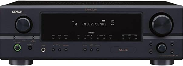 Denon DRA-397 AM/FM Multi Source/Zone Stereo Receiver w/ 80X2 Audiophile Power (Discontinued by Manufacturer)