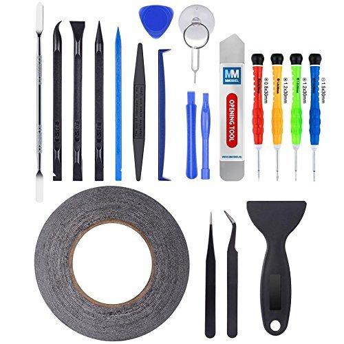 MMOBIEL 21 in 1 Reparatur Öffnungs Werkzeug Schraubenzieher Set kompatibel mit diversen Smartphones & weiteren Geräte