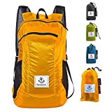 4Monster Hiking Daypack,Water Resistant Lightweight Packable Backpack for Travel Camping...