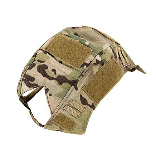 OneTigris Camouflage Helmet Cover Without Helmet 500D Cordura Nylon for Fast PJ Helmet in Size M/L (Multicam - KB02)