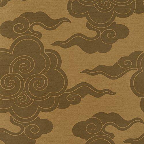 Texturas por Alexandra - behang Wolken 10.05 m x 52 cm koper