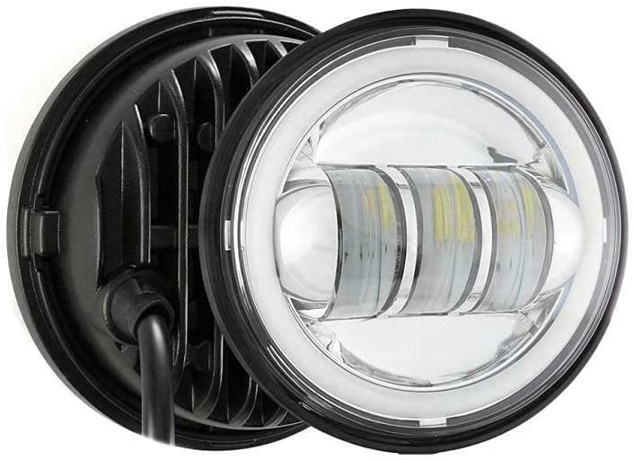 1 Surprise price Pair of Chrome Fog Light Bra Lamp Outer Cover Passing Housing Rapid rise