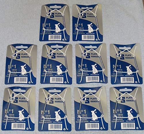 Telleraufhänger, Größe 1, für 13-19cm Durchmesser, 10 Stück