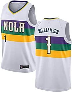 Camiseta de Baloncesto Swingman PG13 Mesh 2019 para Hombre Versi/ón en Oro Negro LAMBO Camiseta de Baloncesto de la NBA para Hombre # 13 Paul George Los Angeles Clippers