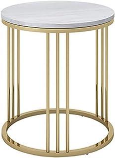Saharashop Oriental Table /à th/é tefor Bois /Ø 40/cm Or