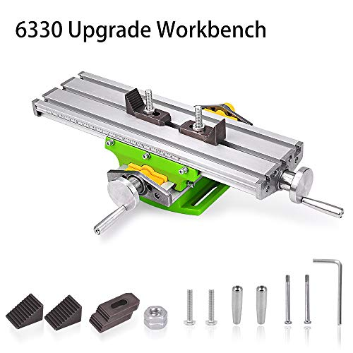 Find Cheap MYSWEETY Compound Slide Table/Worktable Milling Working Cross Table Milling Machine Compound Drilling Slide Table For Bench Drill Adjustme X-Y