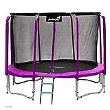 Angel Kinder Gartentrampolin Maxy Comfort 374CM Spielzeug für draußen komplettes Trampolinset...