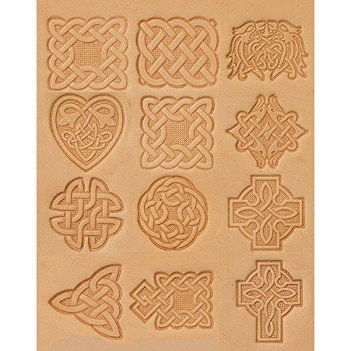 Tandy Leder Factory Keltisches Stempel Set,