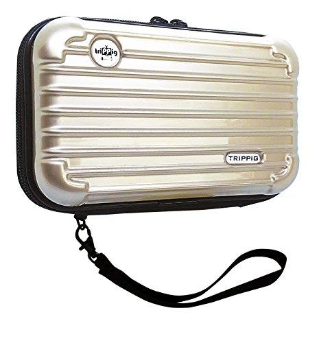 (トリップピッグ) TRIPPIG スマホ 通帳 ケース ポーチ/スーツケース 型 旅行 バッグ ミニ キャリーバッグ ...