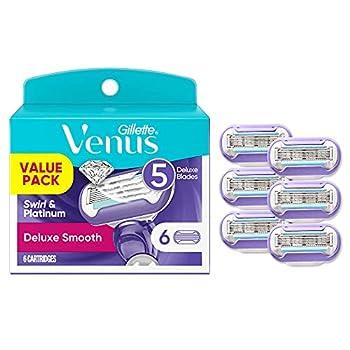 Gillette Venus Extra Smooth Swirl Women s Razor Blade Refills 6 Count
