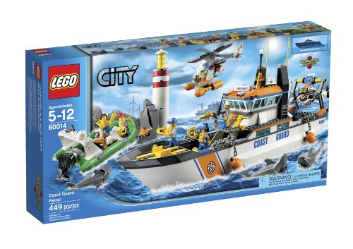 LEGO City Coast Guard Patrol 60014 (Discontinued by manufacturer)