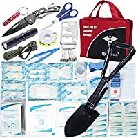 Diggold 141-Piece First Aid Kit for Camping