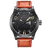 L'orologio militare degli uomini di vigilanza del quarzo di CURREN guarda l'orologio famoso dell'orologio maschio di marca superiore