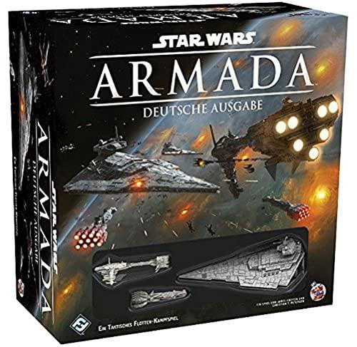 Preisvergleich Produktbild Asmodee Star Wars: Armada,  Grundspiel,  Tabletop