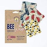 🌎 100% NATUREL ET ÉCOLOGIQUE: Il fonctionne comme un film plastique à usage unique, mais il est meilleur pour la planète ! Notre emballage à la cire d'abeille est naturel, lavable et réutilisable. ♻️ 0 PLASTIQUE: Faites partie de la Révolution sans p...