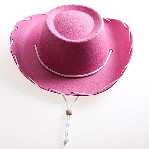 Children's Pink Felt Cowboy Hat by Century Novelty