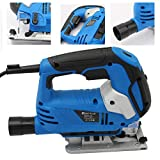 <span class='highlight'><span class='highlight'>Xinng</span></span> 800W Electric Jigsaw with Blade Variable 6-Speed Cutting Angle -45°to 45° For DIY Wood PVC Metal Cutting Multi-Function 3000rpm Quick Tool Free Change Blade