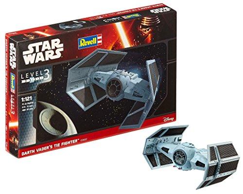 Revell- Darth Vader's Tie Fighter Kit di Modelli in plastica, Multicolore, 03602