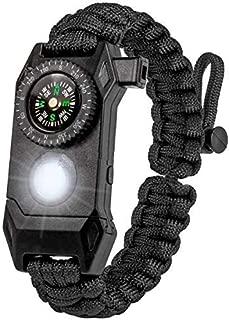 DeltaBravo Outdoors New Emergency Paracord Bracelets w/LED