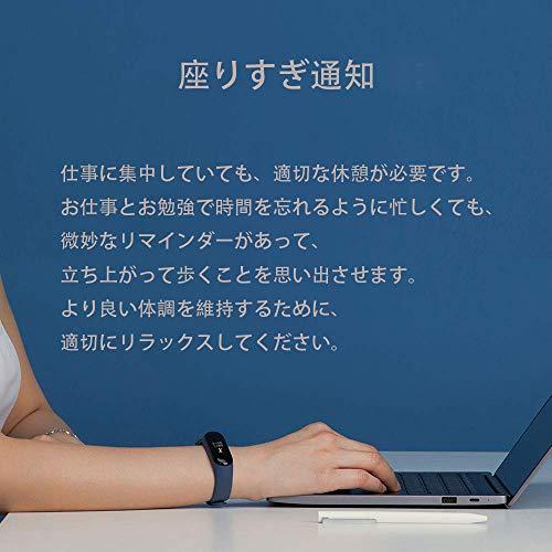 51JxLTk 6WL-「Xiaomi Mi Band 3」を1週間使い続けてみたので気づいたことをレビューしていく