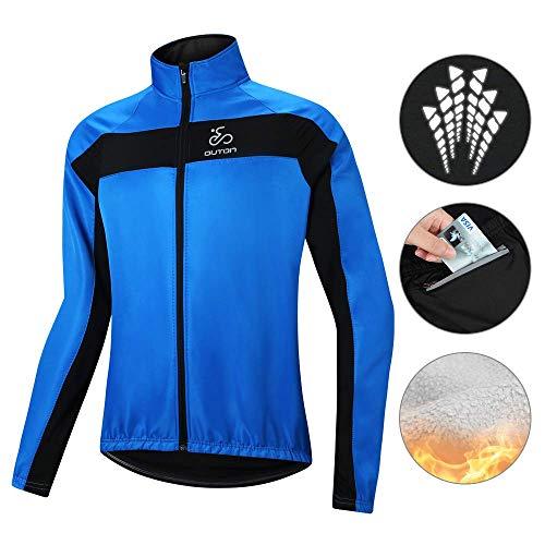 OUTON Radsport-Jacken für Herren Air Jacket Winddichte MTB Mountainbike Jacket Winddichte Fahrradjacke Männer Visible Reflektierend Jacket