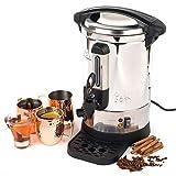 Giles & Posner EK2907 Electric Hot Water Dispenser Urn| 1500W| 7L |Adjustable Thermostat| Ideal for Tea, Coffee, Hot Cider, Mulled Wine & More