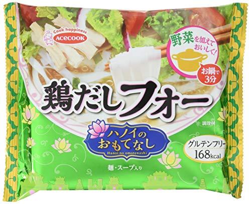 エースコック (袋) ハノイのおもてなし 鶏だしフォー 48g ×10個