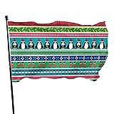 GOSMAO Bandera de Jardín Doble Costura Resistentes a la Decoloración UV Banner de Bandera Decorativo...