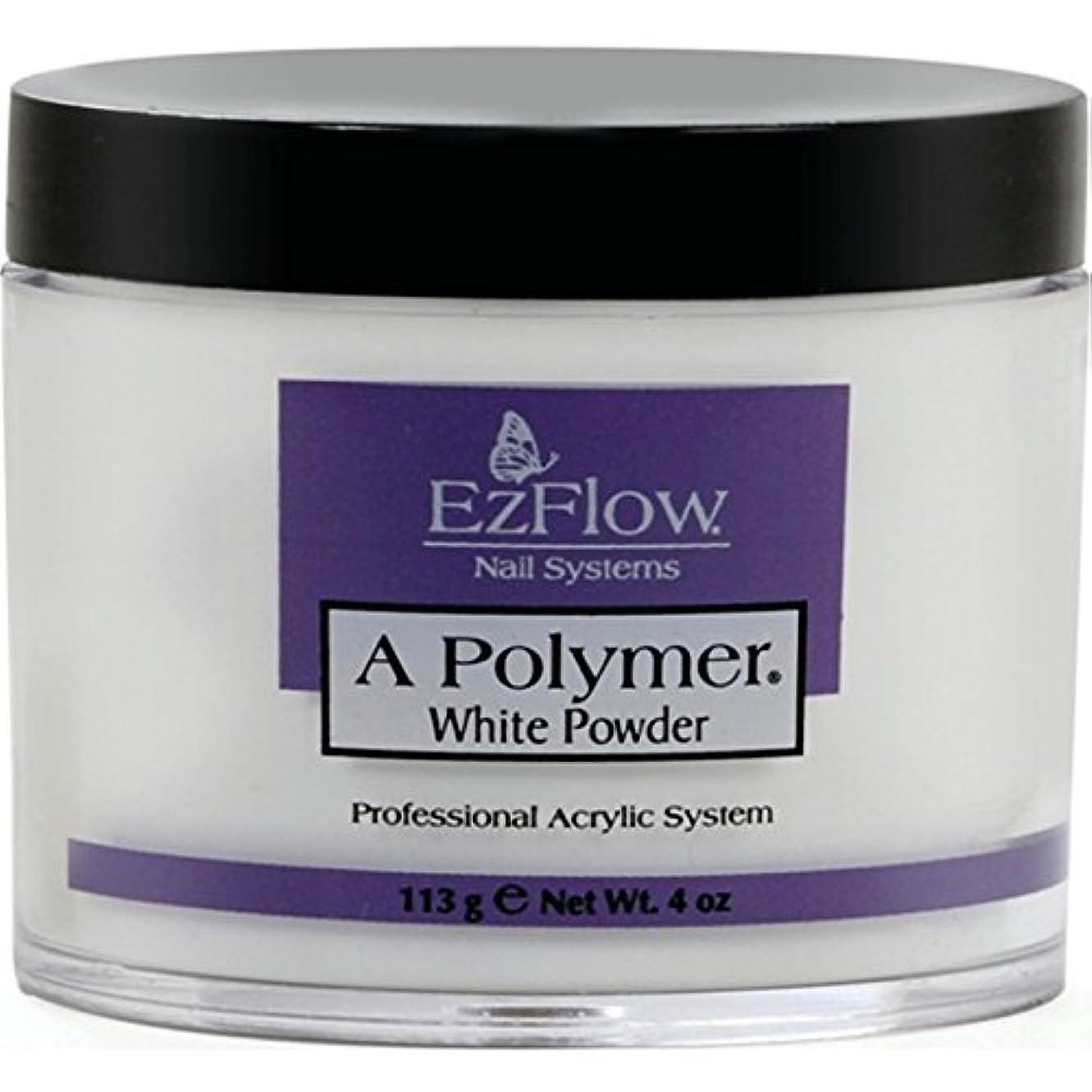 通行人給料性格Ez Flow Aポリマー ホワイト 4oz(約113)