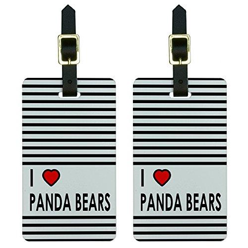 Etiqueta Para Equipaje Panda  marca Graphics and More