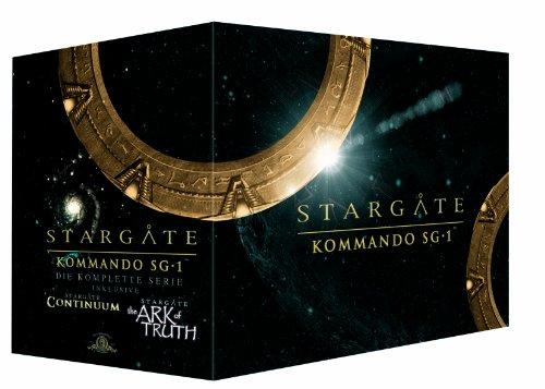 Kommando SG 1 - Complete Box/Season 1-10 (61 DVDs)