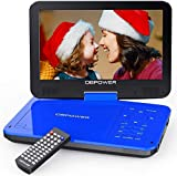 """Best Car Dvd Players - DBPOWER 12.5"""" Portable DVD Player with 10.5"""" Swivel Review"""
