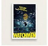 shifangtrade Leinwand Poster Watchmen Filmplakat und