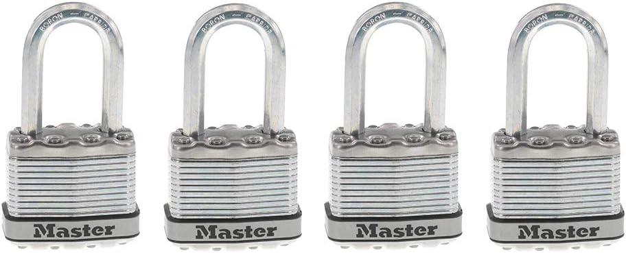 Master Detroit Mall Lock M1XQLF Magnum Heavy Duty Key 4 Outdoor Luxury goods Padlock with