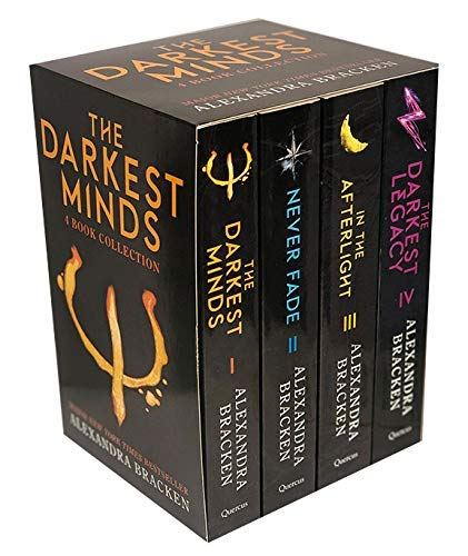 The Darkest Minds Series by Alexandra Bracken 4 Books Collection Set Exclusive Slipcase Edition (The Darkest Minds, Never Fade, In The Afterlight & The Darkest Legacy)