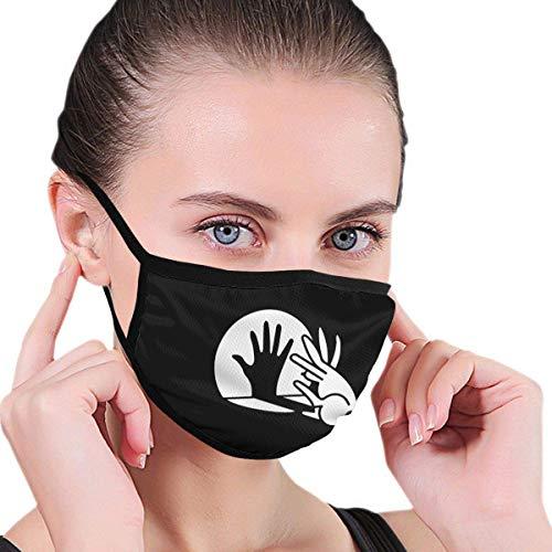 Rabbit Shadow Finger Boys and Girls print comfortabel herbruikbaar wasbaar voor openbare plaatsen