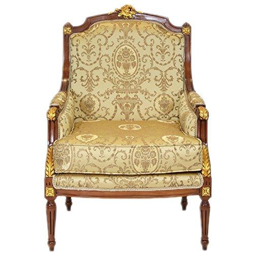 Casa Padrino Barock Lounge Thron Sessel Empire - Ohrensessel Tron Stuhl