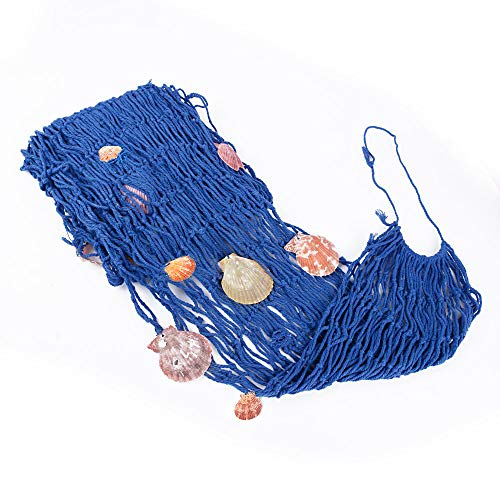 Locisne Red de Pesca náutica Decorativa, Red de la Playa con la decoración de la ejecución del Techo de la Pared del hogar de la Barra del Partido de la Playa de Las cáscaras, el 1.5 * 2m