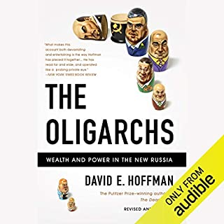 The Oligarchs audiobook cover art