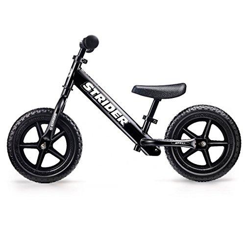 キッズ用ランニングバイク STRIDER (ストライダー) スポーツモデル ブラック 日本正規品