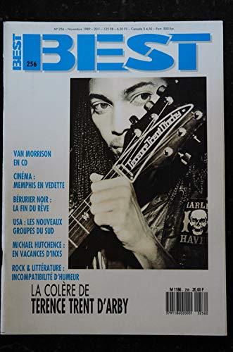 BEST 256 NOVEMBRE 1989 TERENCE TRENT D\'ARBY Van Morrison Memphis Bérurier Noir INXS