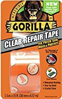 """Gorilla 6015002 Tape Crystal Clear Duct Tape 1.88"""" x 5 yd Clear (Pack of 1) 【Creative Arts】 [並行輸入品]"""