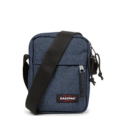 Eastpak The One, Borsa A Tracolla Unisex – Adulto, Blu (Double Denim), 2.5 liters, 21 centimeters