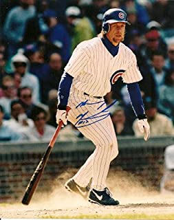 Autographed Signed Mickey Morandini Chicago Cubs 8x10 Photo - Certified Authentic