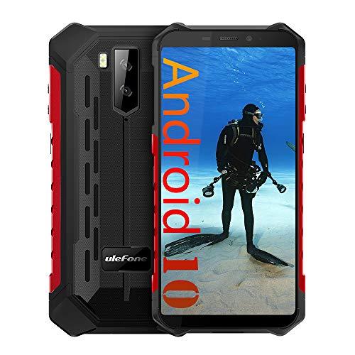 Ulefone ARMOR X5 4G Rugged smartphone, MTK6763 Octa-core 3GB + 32GB, 5,5 Pollici Telefono Resistente Ip68 Impermeabile Android 9.0, Dual SIM, 13MP + 5MP + 2MP, Batteria 5000mAh, NFC GPS Rosso
