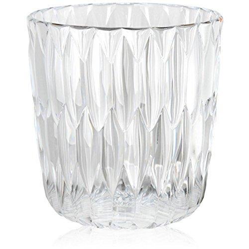 Kartell 1227B4 Vase Jelly, 25 x 23,5 cm, glasklar