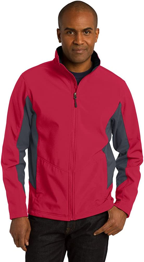 Port Authority Tall Core Colorblock Soft Shell Jacket