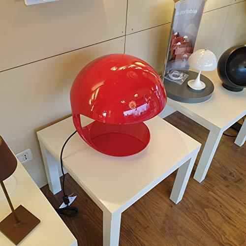COBRA-Lampe à poser H40cm rouge édition anniversaire Martinelli Luce - designé par Elio Martinelli